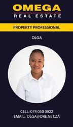 Olga Mohammed, estate agent