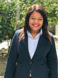 Boitumelo Nkge, estate agent